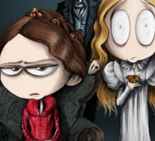 Little Crimson Peak Poster Sticker
