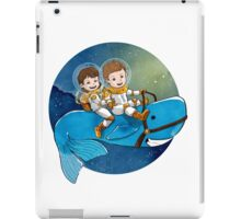 Baby Astronauts & A Whale iPad Case/Skin