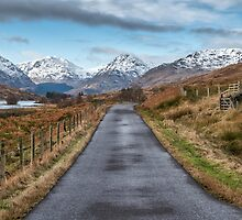On the Road to Inversnaid in Scotland by Jeremy Lavender Photography