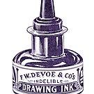 Devoe & Co Drawing Ink by Kawka