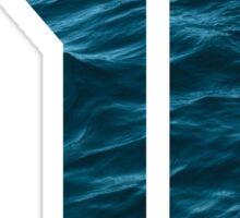 Number 1 - Ocean Sticker