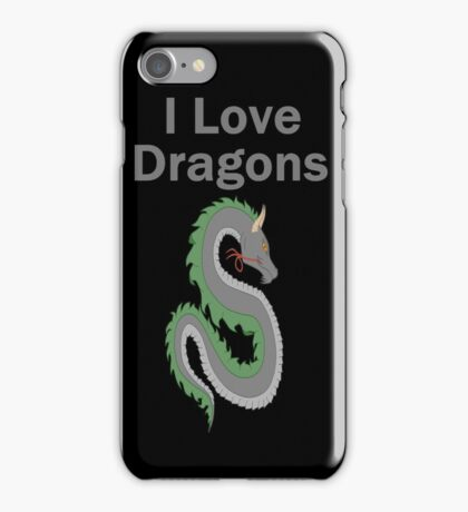 I Love Dragons - Dragon Design - (Designs4You) - Chinese Dragon iPhone Case/Skin
