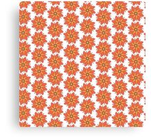 Spring Florals pattern Canvas Print