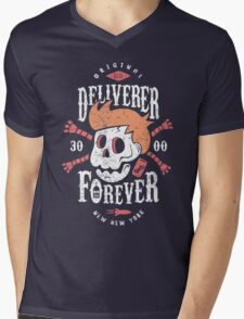 Deliverer Forever Mens V-Neck T-Shirt