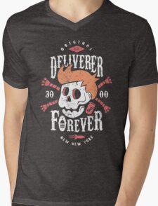 Deliverer Forever Mens V-Neck T-Shirt