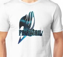 FairyTail Logo Blue,Anime Unisex T-Shirt