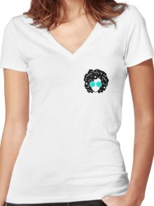 Annie Mac Women's Fitted V-Neck T-Shirt