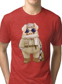 Porco Rosso Tri-blend T-Shirt