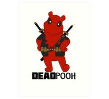 DEADPOOH! Art Print
