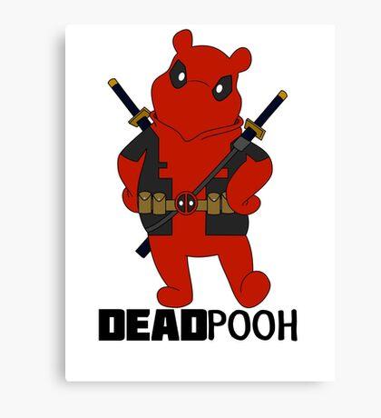 DEADPOOH! Canvas Print