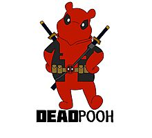 DEADPOOH! Photographic Print