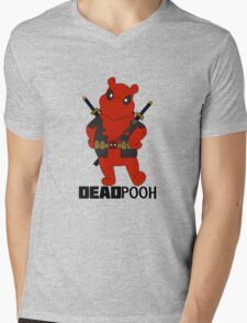 DEADPOOH! Mens V-Neck T-Shirt