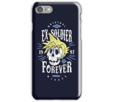 Ex-Soldier Forever iPhone Case/Skin