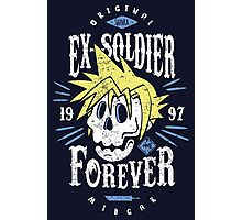 Ex-Soldier Forever Photographic Print