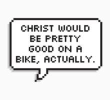 Christ on a Bike One Piece - Long Sleeve