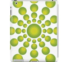 The Green 70's year styling iPad Case/Skin
