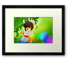 Drawing is magic Framed Print