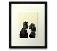 The Affair - tv series silhouettes Framed Print