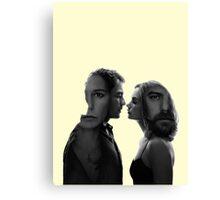 The Affair - tv series silhouettes Canvas Print