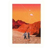 Mars Holidays Art Print