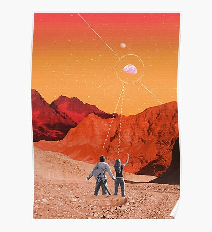 Mars Holidays Poster