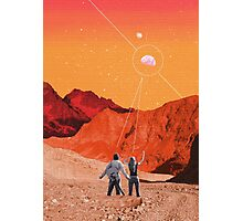 Mars Holidays Photographic Print