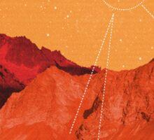 Mars Holidays Sticker
