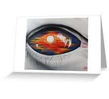 Sunset of Minds Greeting Card