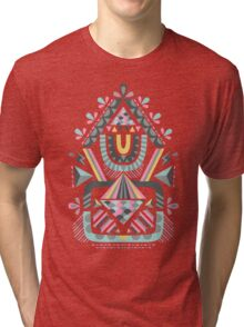 ethnic abstraction Tri-blend T-Shirt