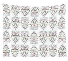 ethnic abstraction Wall Tapestry