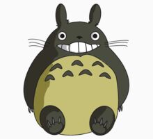 Totoro Smile One Piece - Short Sleeve