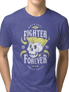 Fighter Forever Guile Tri-blend T-Shirt