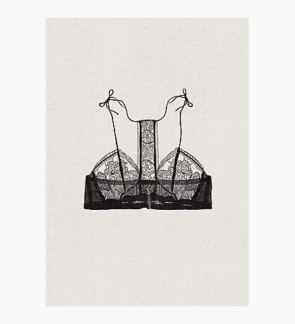 Lingerie-3 Photographic Print