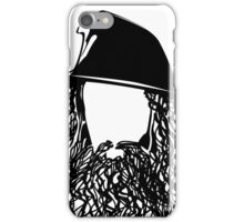 Ian as The Grey Wizard vacant expression iPhone Case/Skin