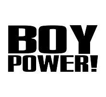 Boy Power! Photographic Print