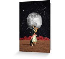 Dance with the moon Greeting Card