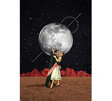Dance with the moon Photographic Print