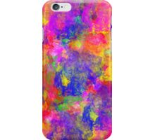 colours paint iPhone Case/Skin