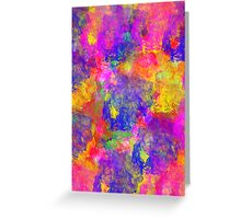 colours paint Greeting Card