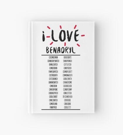 I Love Benedict Cumberbatch Hardcover Journal
