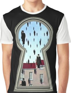 """""""Magritte from the lock"""" Graphic T-Shirt"""