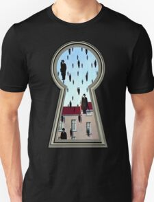 """Magritte from the lock"" Unisex T-Shirt"