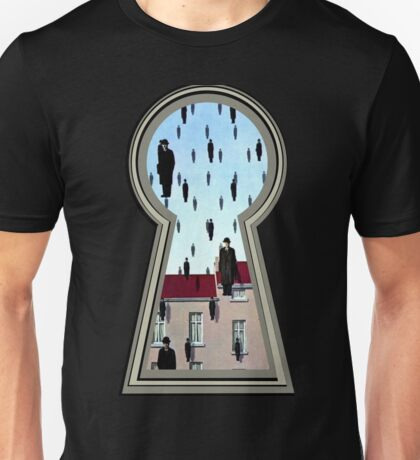 """""""Magritte from the lock"""" Unisex T-Shirt"""
