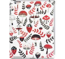 Magical Mushrooms & Acorns iPad Case/Skin