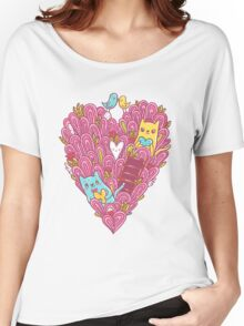 Valentine's cats Women's Relaxed Fit T-Shirt