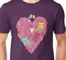 Valentine's cats Unisex T-Shirt