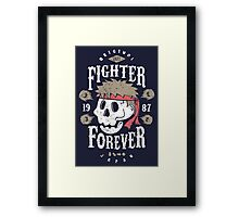 Fighter Forever Ryu Framed Print