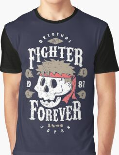 Fighter Forever Ryu Graphic T-Shirt