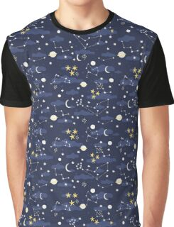 cosmos and stars Graphic T-Shirt