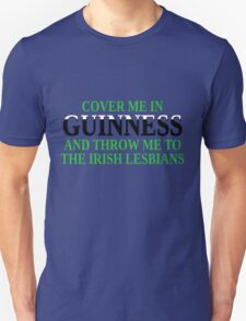Funny Irish beer and lesbians T-Shirt